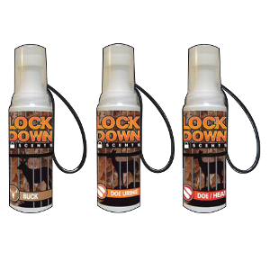 Three Pack Deer Scents, Deer Urine, Special Value, Hunting